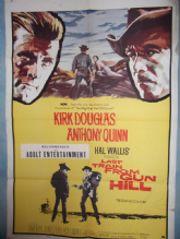 Last Train from Gun Hill, Movie Poster, Kirk Douglas, Anthony Quinn, '59